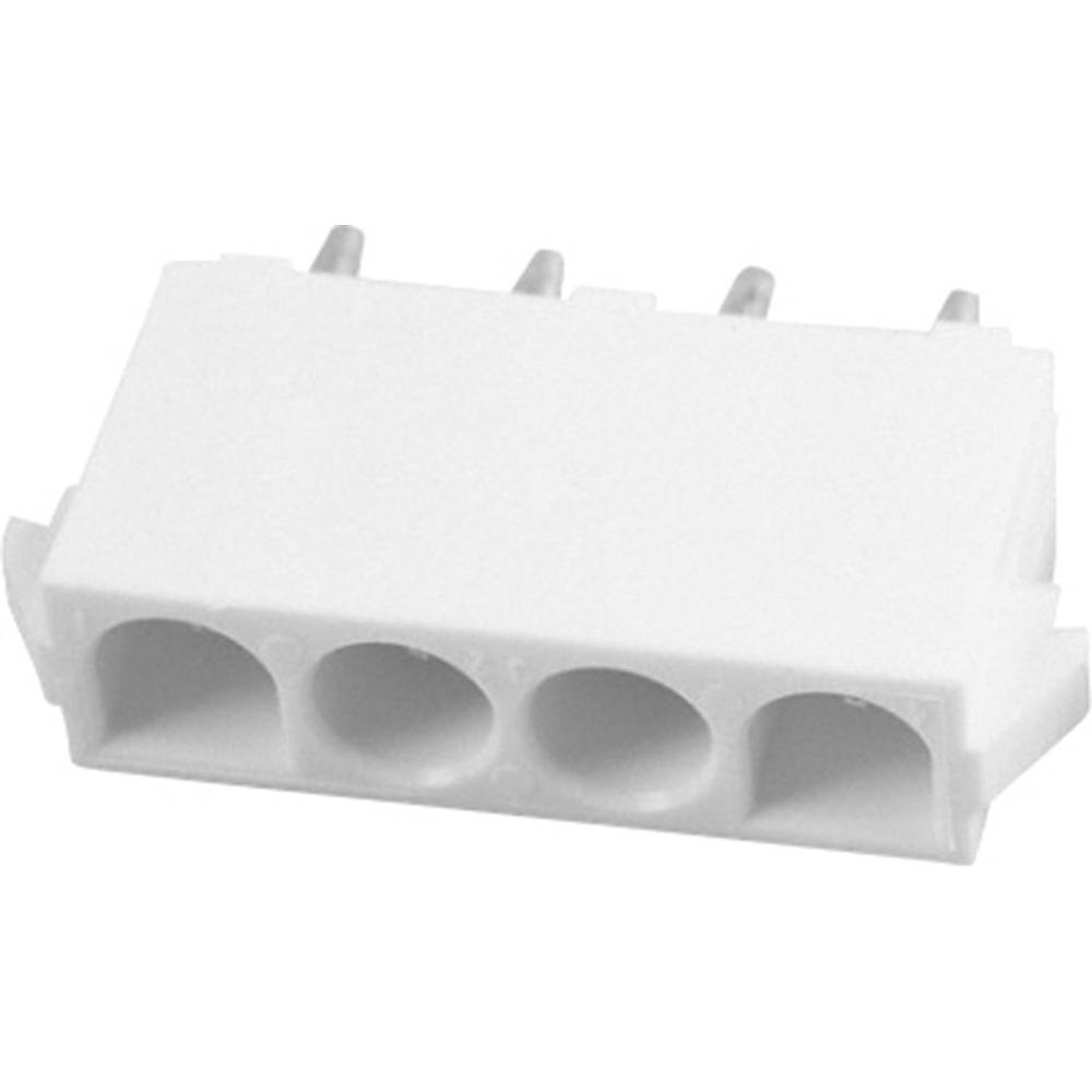 Stiftkabinet-printplade Universal-MATE-N-LOK (value.1360506) Samlet antal poler 4 TE Connectivity 641968-1 1 stk