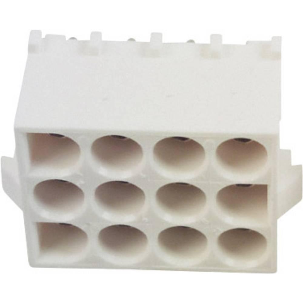 Tilslutningskabinet-printplade Universal-MATE-N-LOK (value.1360506) Samlet antal poler 12 TE Connectivity 350829-1 1 stk