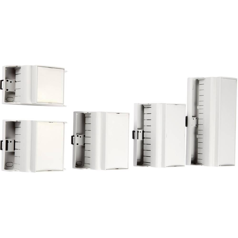 DIN-skinnekabinet MR5/K CR RAL7035 ABS 87.5 x 90 x 62 ABS Lysegrå (RAL 7035) 1 stk
