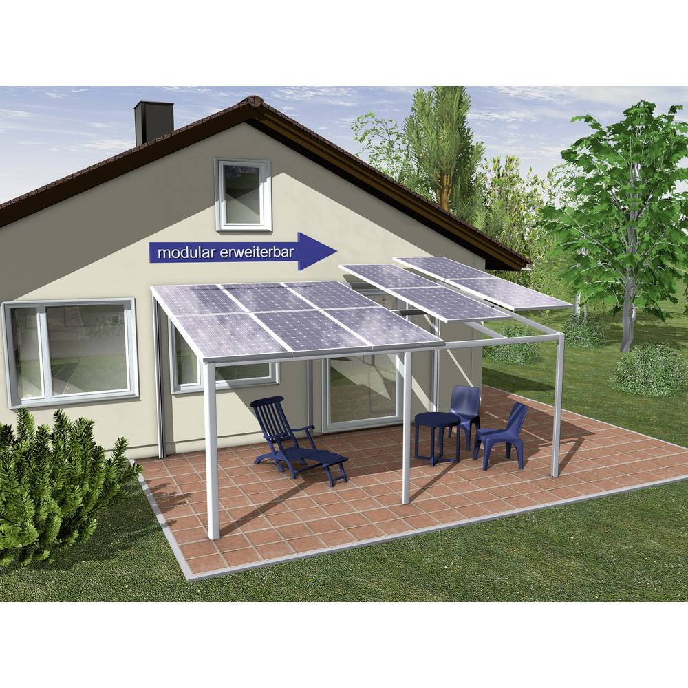 Solarna nadstrešnica za avto Schindler Alusystemtechnik SEP3034 Stojalo