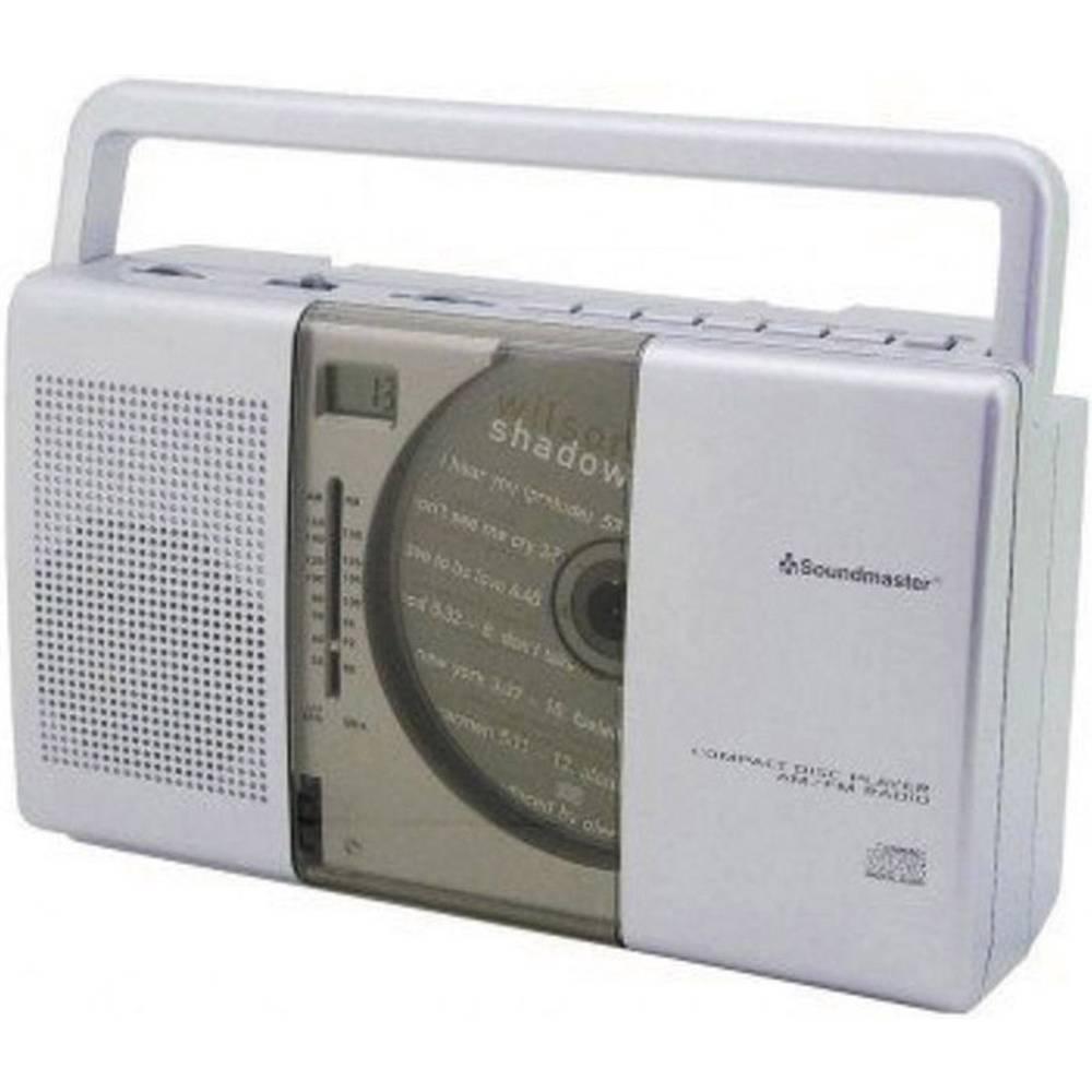 Soundmaster RCD1150, CD-Radio, fm, MW, srebrn