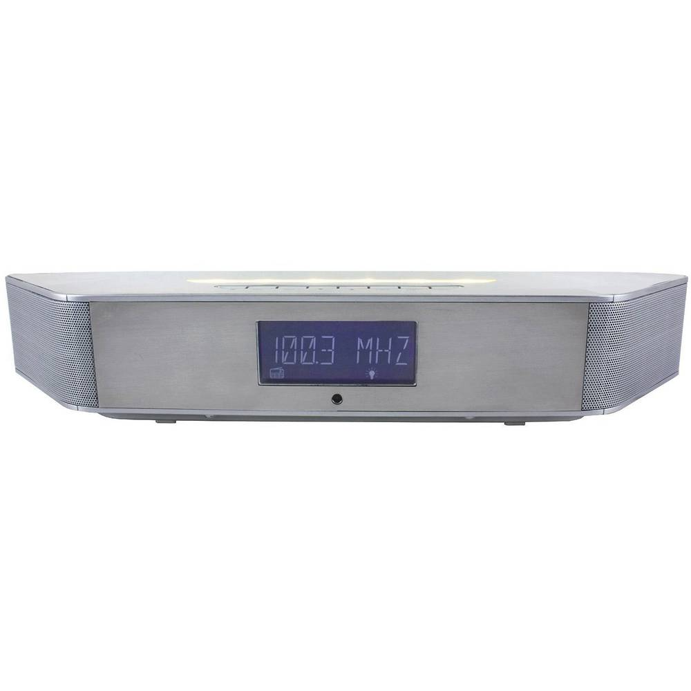 Soinmaster BT1308SI, namizni radio, Bluetooth®, UKW, stenska montaža, srebrne barve