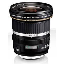 Vidvinkelobjektiv Canon EF-S 10-22mm 1:3,5-4,5 USM f/3.5 - 4.5 10 - 22 mm