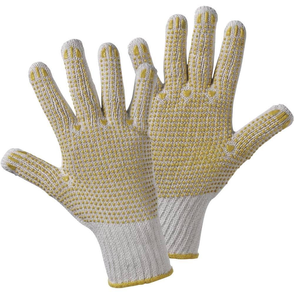 Pletene rokavice s točkovno PVC-prevleko Upixx, 60 % poliamid, 40 % bombaž, velikost 8, 1132