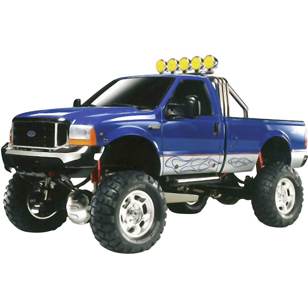 RC model Tamiya 1:10, elektr. Monstertruck Ford F-350 High Lift, krtačni motor, 4WD, komplet za sestavljanje 300058372