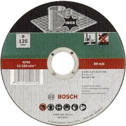 Kapskiva rak, Inox Bosch Accessories 2609256322 1 mm 125 mm 1 st