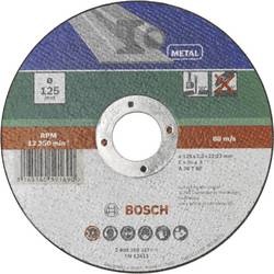 Kapskiva rak, metall Bosch Accessories 2609256317 2.5 mm 125 mm 1 st