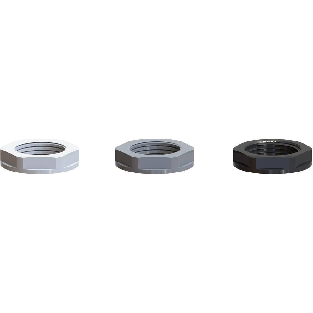 Varovalna matica M12, poliamid črne barve (RAL 9005) Bimed BML-2S 100 kos