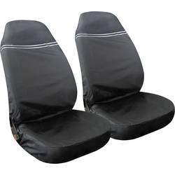 Eufab 28115 zaščitna prevleka za delavnico 2 kratni poliester črna, srebrna (odsevna) voznikov sedež, sopotnikov sedež