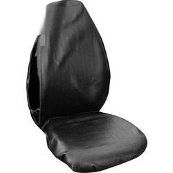 Eufab 28114 zaščitna prevleka za delavnico 1 kos umetno usnje črna voznikov sedež