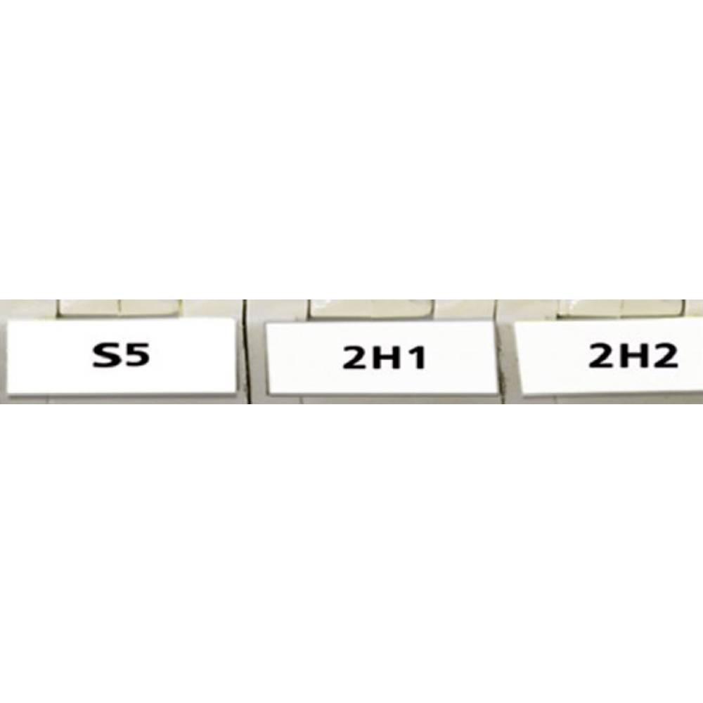 Kabel-etiketa Helatag 5.1 x 16.5 mm boja polja s oznakom: bijele boje HellermannTyton 594-01101 TAG11LA4-1101-WH broj etiketa: 1