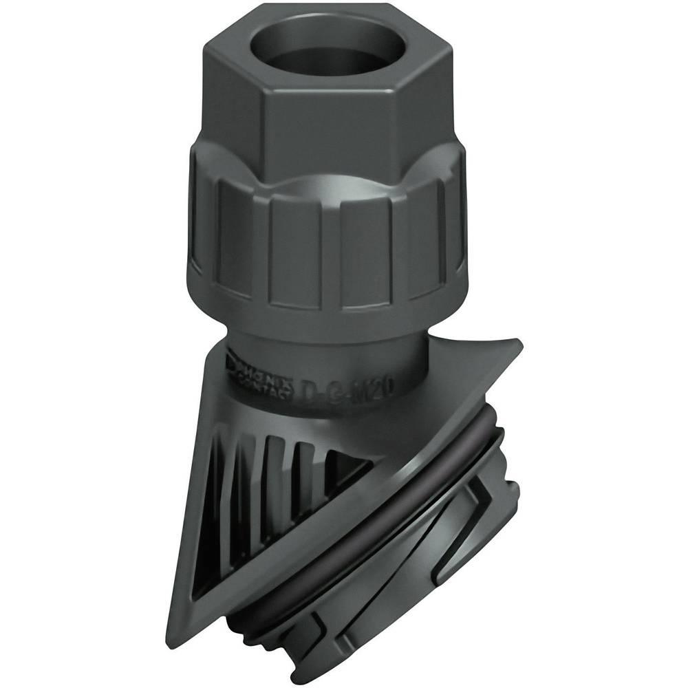 Industristikforbindelse Amphenol C146 Phoenix Contact HC-D-G-M20-PLRBK 1 stk