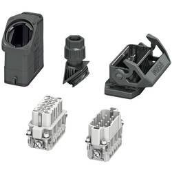 Set s konektorskim kućištem, vijčani priključak, umetak sa ženskim i muškim kontaktima HC-EVO-A10UT-BWS-HH-M20-PLRBK Phoenix Con