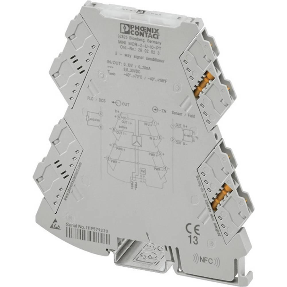 3-smerni-razdelilni ojačevalnik Phoenix Contact MINI MCR-2-I4-U-PT kataloška številka 2902003 1 kos