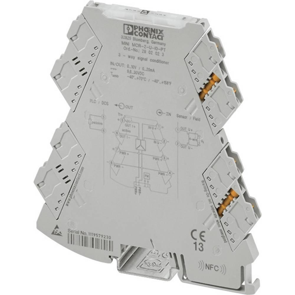 3-smerni-razdelilni ojačevalnik Phoenix Contact MINI MCR-2-I-I kataloška številka 2901998 1 kos