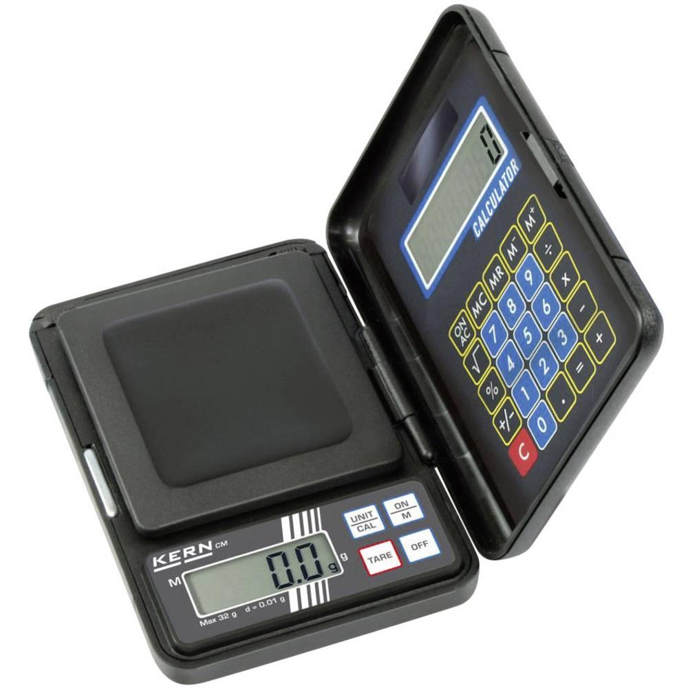Džepna vaga Kern Džepna vaga CM 150-1N -S3 područje mjerenja (maks.) 150 g očitljivost 0.1 g na baterije