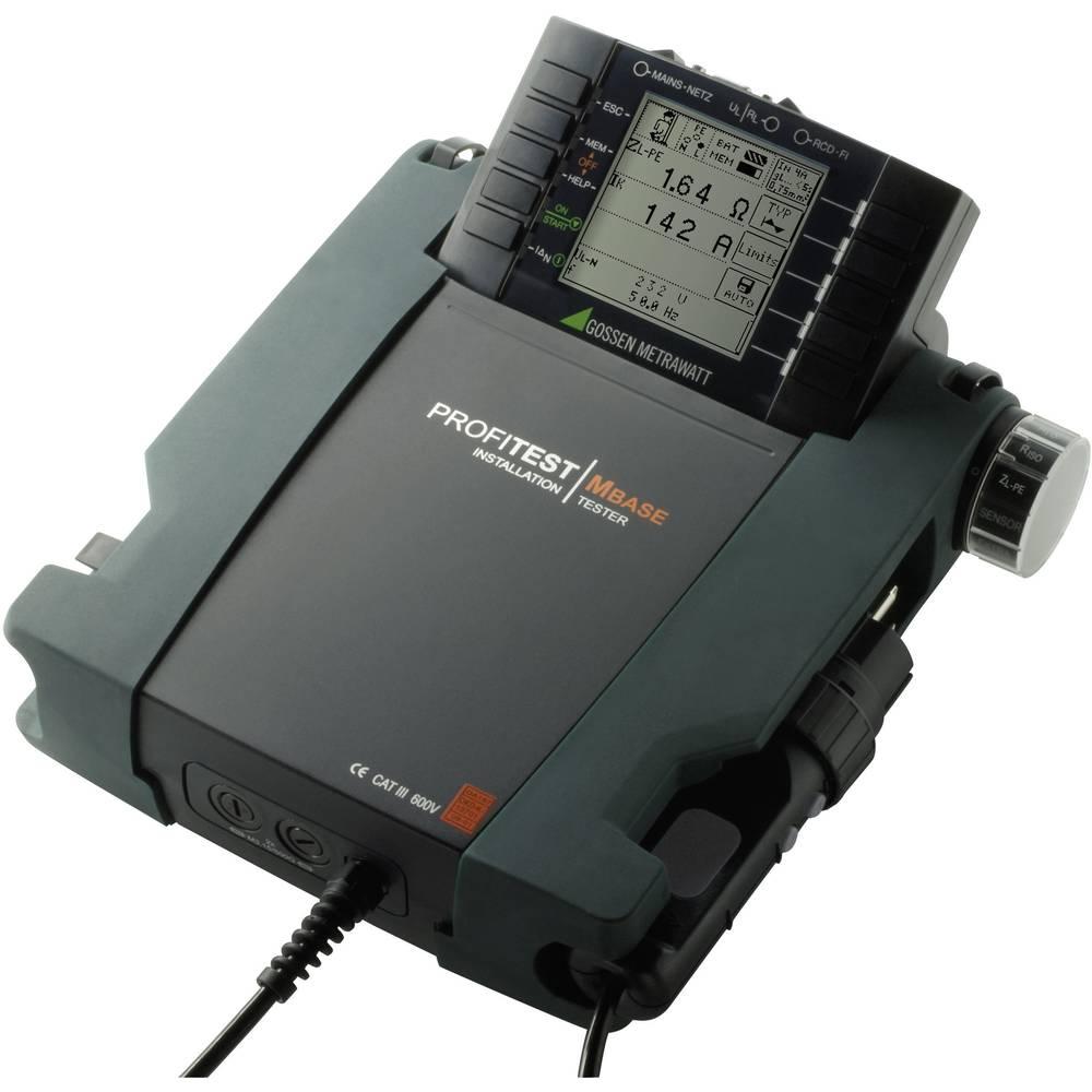 Gossen Metrawatt PROFIPAKET XTRA VDE-testirna naprava DAkkS, VDE 0100