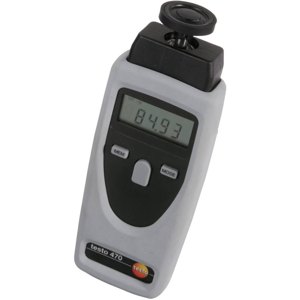Kalib. ISO-Testo 470 Mjerač broja okretaja, +1 do +9999 rpm 0563 0470