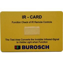 Infracrveni indikator/testna karta 980 nm Burosch IR-CARD