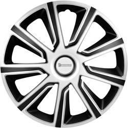 Ratkape, ukrasni poklopci kotača Louise R14 srebrne boje-crne boje 4 komada Michelin