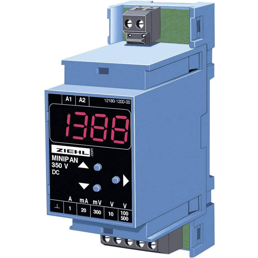 Digitalni mjerni i stikalni uređaj Ziehl Minipan 350 DC,1mV- 500 V/DC, 1 mA - 1 A D 890110.CO