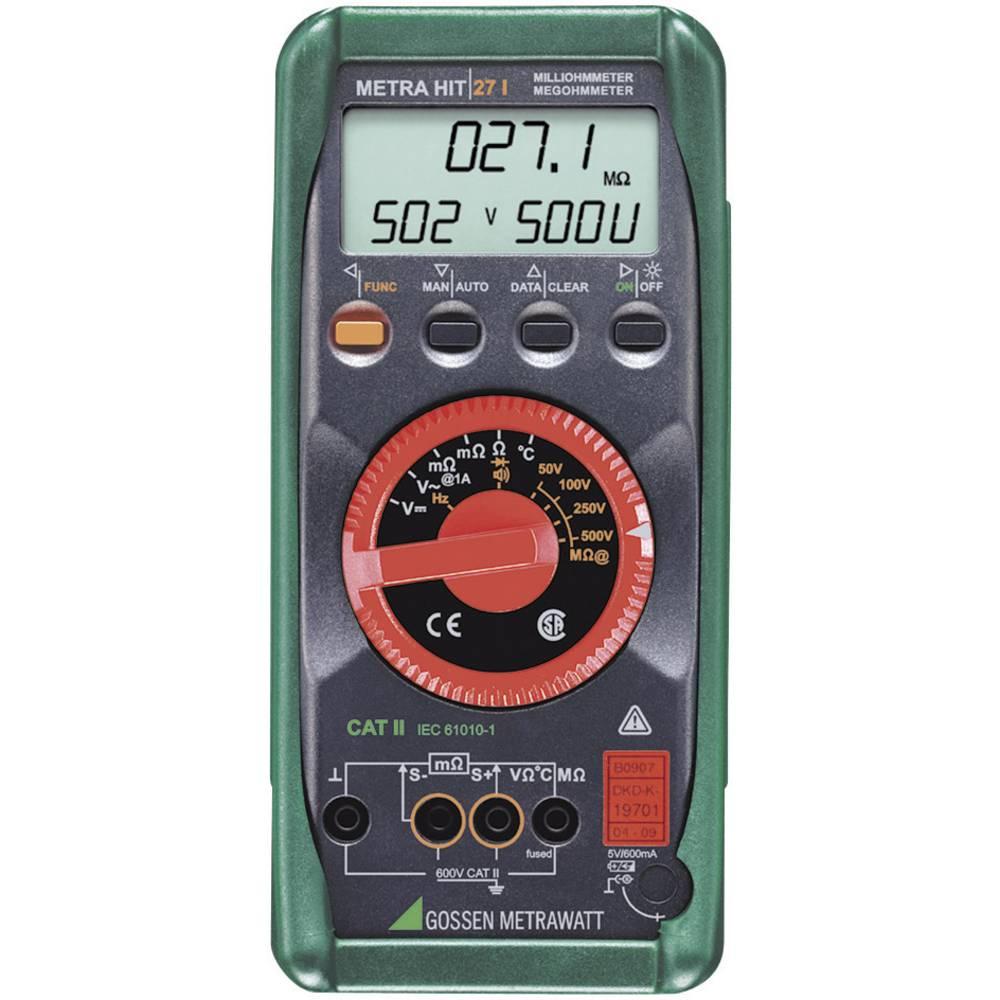 Gossen Metrawatt Metrahit 27I merilnik izolacije 50/100/250/500 V DAkkS