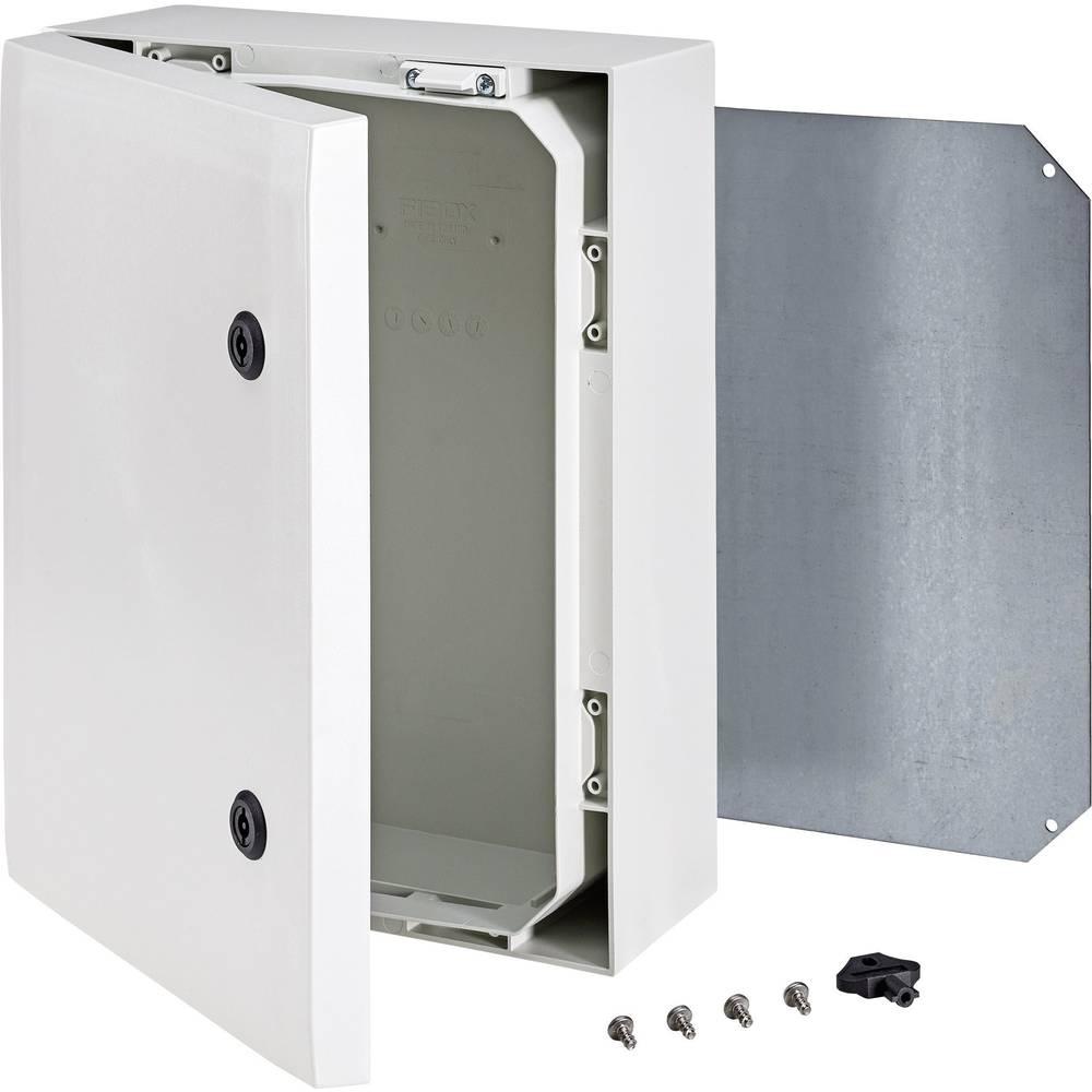 Kabinet til montering på væggen, Installationskabinet Fibox ARCA 8120006 400 x 300 x 150 Polycarbonat 1 stk