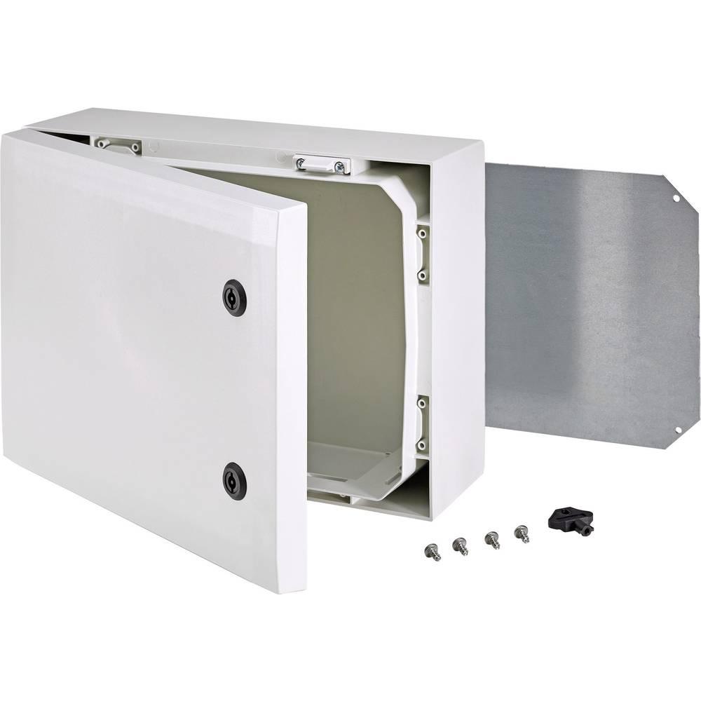 Kabinet til montering på væggen, Installationskabinet Fibox ARCA 8120022 300 x 400 x 150 Polycarbonat 1 stk