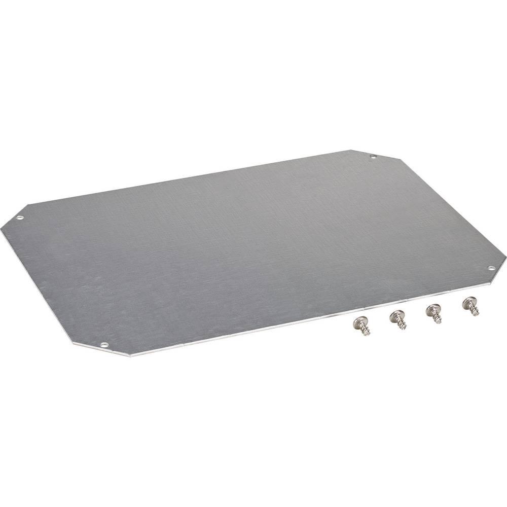 Monteringsplade Fibox ARCA 8120733 (L x B) 400 mm x 300 mm Stålplade 1 stk