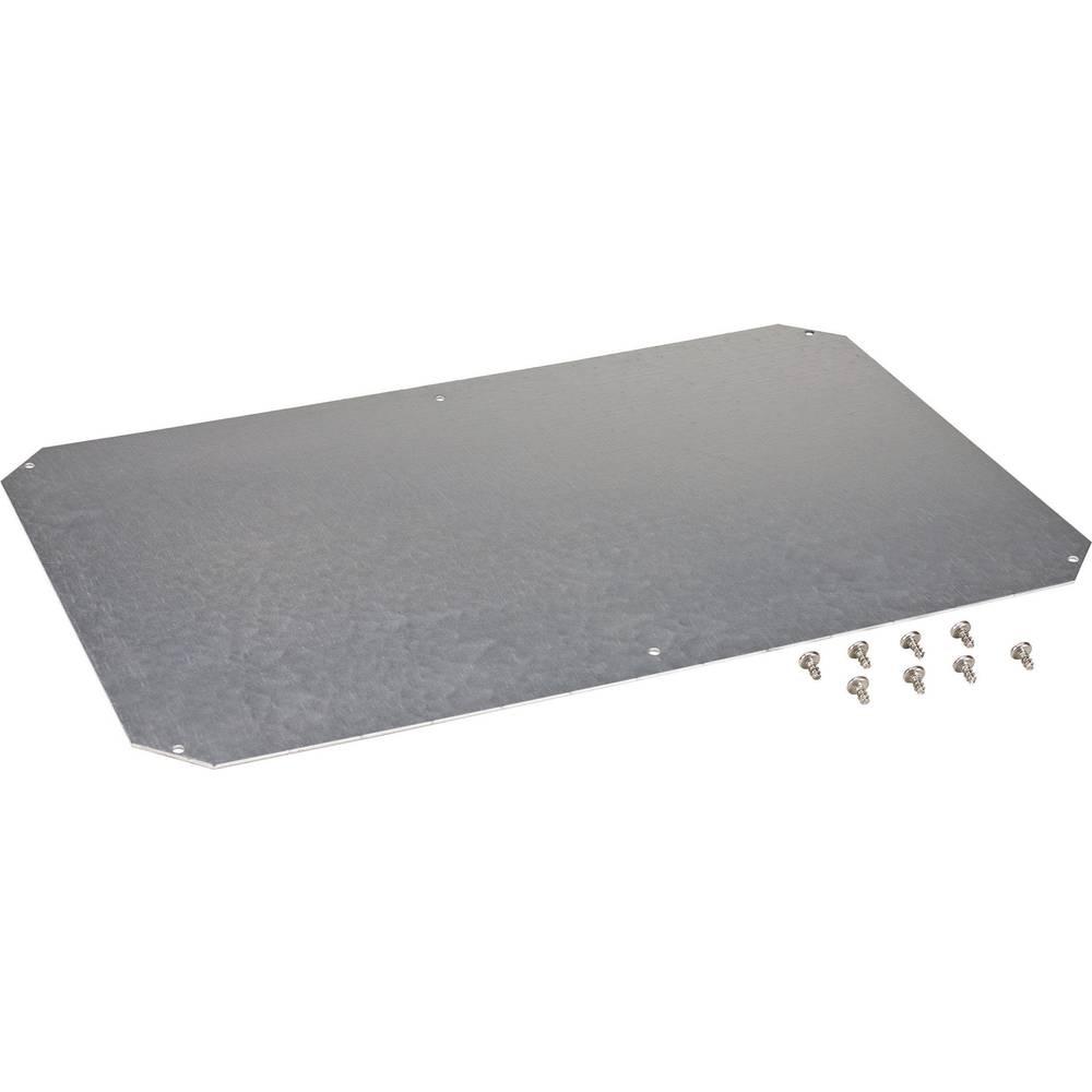 Monteringsplade Fibox ARCA 8120736 (L x B) 600 mm x 400 mm Stålplade 1 stk