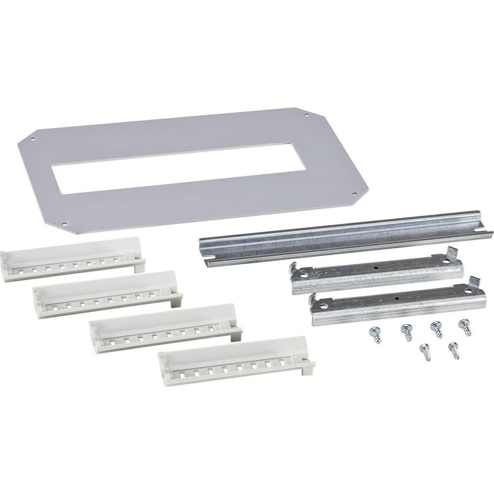 Monteringsramme Fibox ARCA 8120791 8120791 1-række Stål Grå (L x B) 200 mm x 300 mm 1 stk