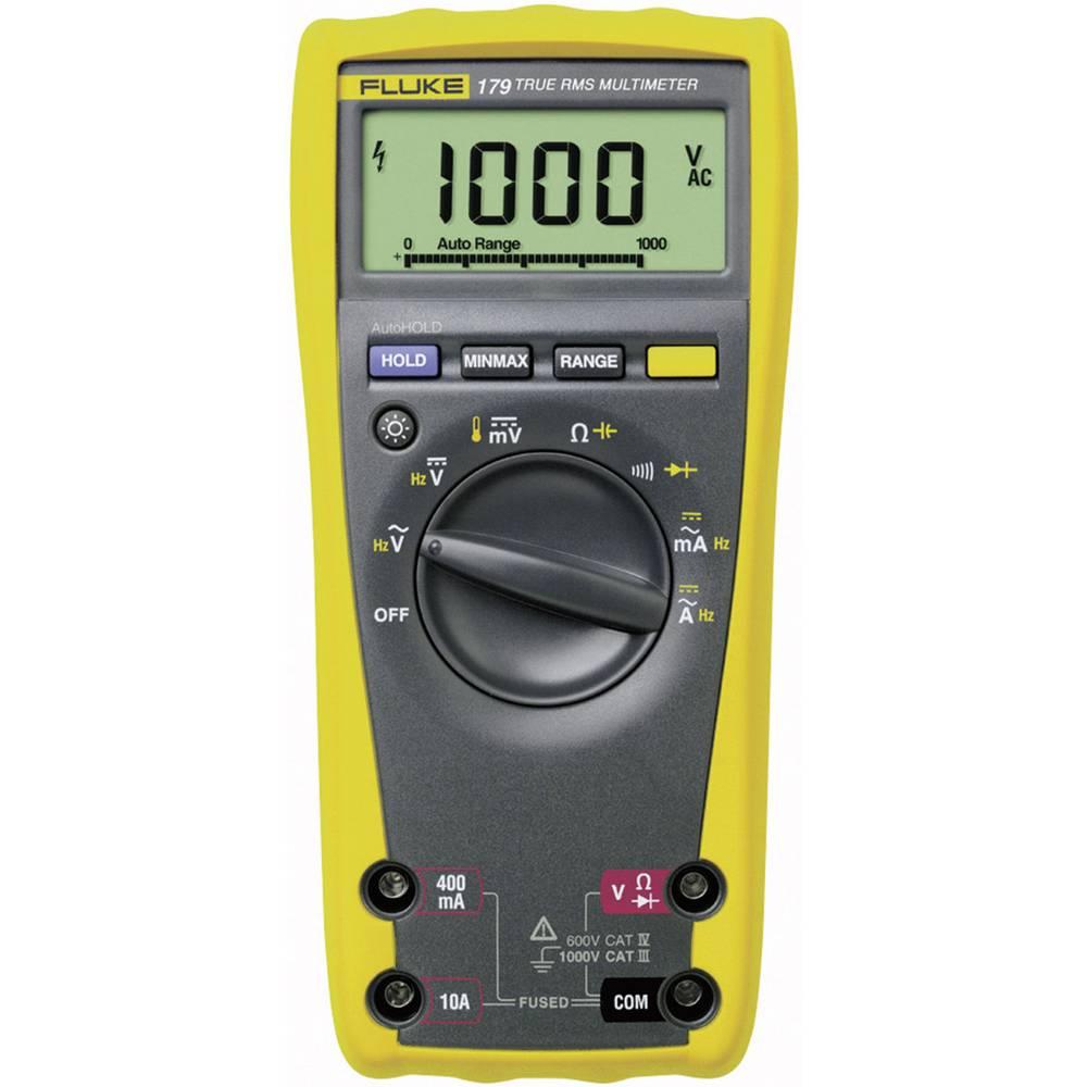 Ročni multimeter, digitalni Fluke 179 kalibracija narejena po: delovnih standardih, CAT III 1000 V, CAT IV 600 V število znakov