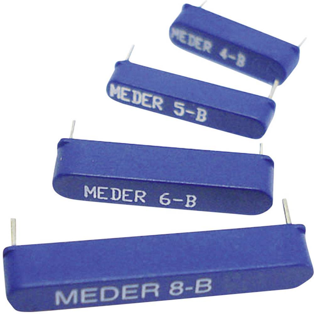 Reed-stikalo-zapiralno 180 V/DC, 180 V/AC 0.5 A 10 W StandexMeder Electronics MK06-8-C