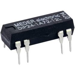 Reed-releji-zapiralni 24 V/DC 1 A 10 W DIP-8 StandexMeder Electronics DIP24-1A72-12D