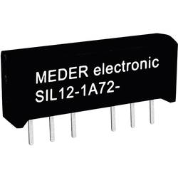 Reed-Relais (value.1292911) 1 Schließer (value.1345270) 5 V/DC 1 A 15 W SIL-4 StandexMeder Electronics SIL05-1A72-71L