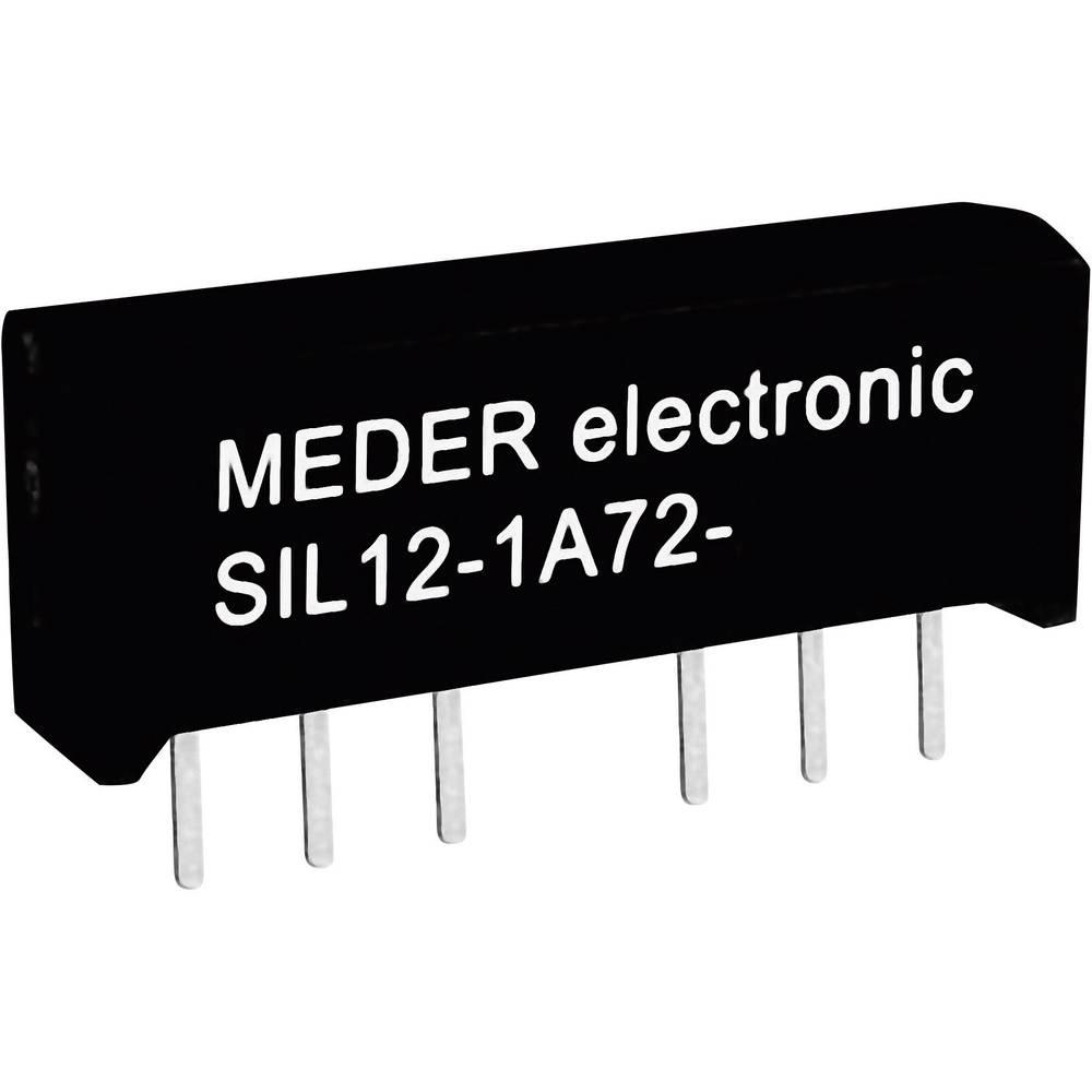 Reed-relæ 1 x sluttekontakt 5 V/DC 0.5 A 10 W SIL-4 StandexMeder Electronics SIL05-1A72-71D
