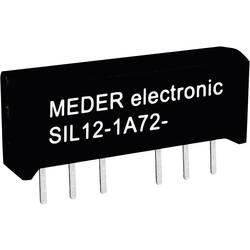Reed-Relais (value.1292911) 1 Schließer (value.1345270) 5 V/DC 0.5 A 10 W SIL-4 StandexMeder Electronics SIL05-1A72-71D