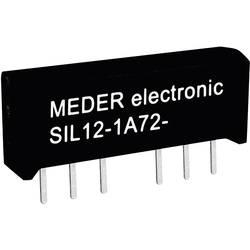 Reed-releji-zapiralni 12 V/DC 1 A 15 W SIL-4 StandexMeder Electronics SIL12-1A72-71L