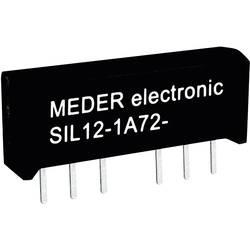Reed-releji-zapiralni 24 V/DC 1 A 15 W SIL-4 StandexMeder Electronics SIL24-1A72-71L