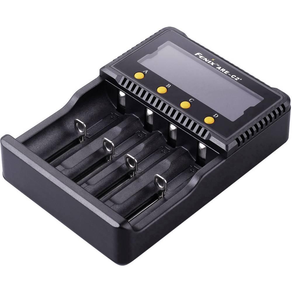Fenix Polnilnik ARE-C2 za 18650, 16340, 14500, 26650 Li-Ion, Micro, Mignon in Baby NiMH akumulatorje