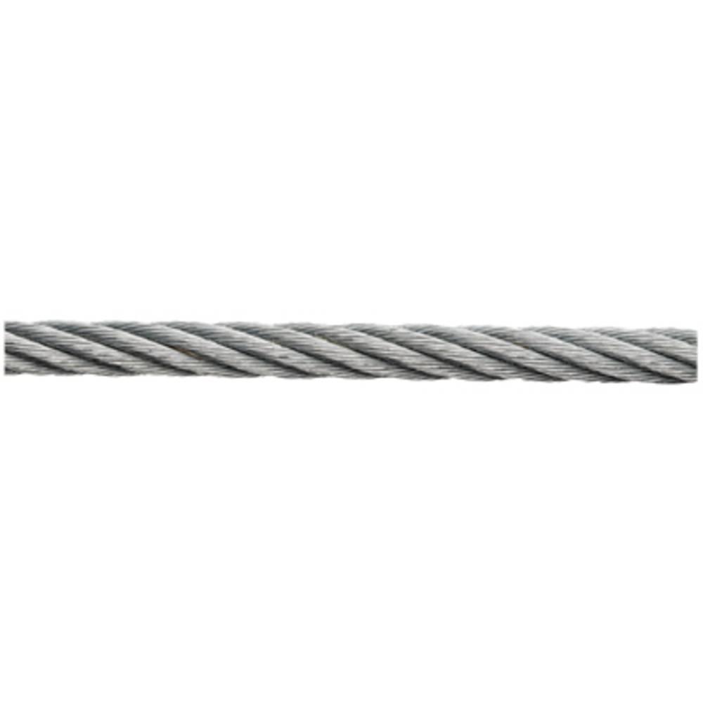 Vrv iz nerjavečega jekla ( x D) 6 mm x 100 m dörner + helmer 190075 iz nerjavečega jekla,
