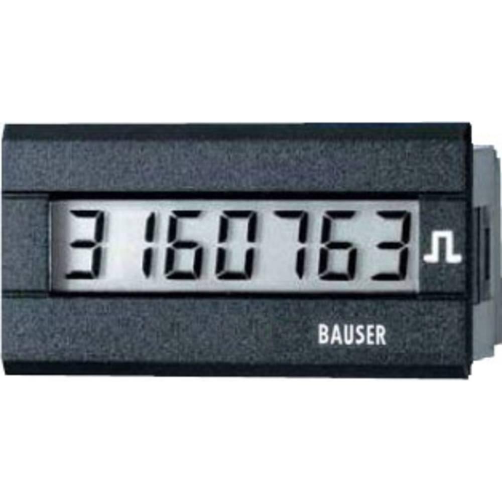 Bauser 3810.2.1.1.0.2 digitalni števec impulzov tip 3810, 12 - 24 V/DC vgradne mere 45 x 22 mm