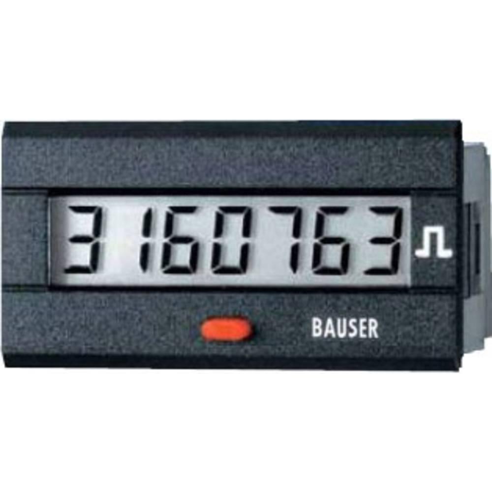 Bauser 3810.3.1.1.0.2 digitalni števec impulzov tip 3810, 12 - 24 V/DC vgradne mere 45 x 22 mm