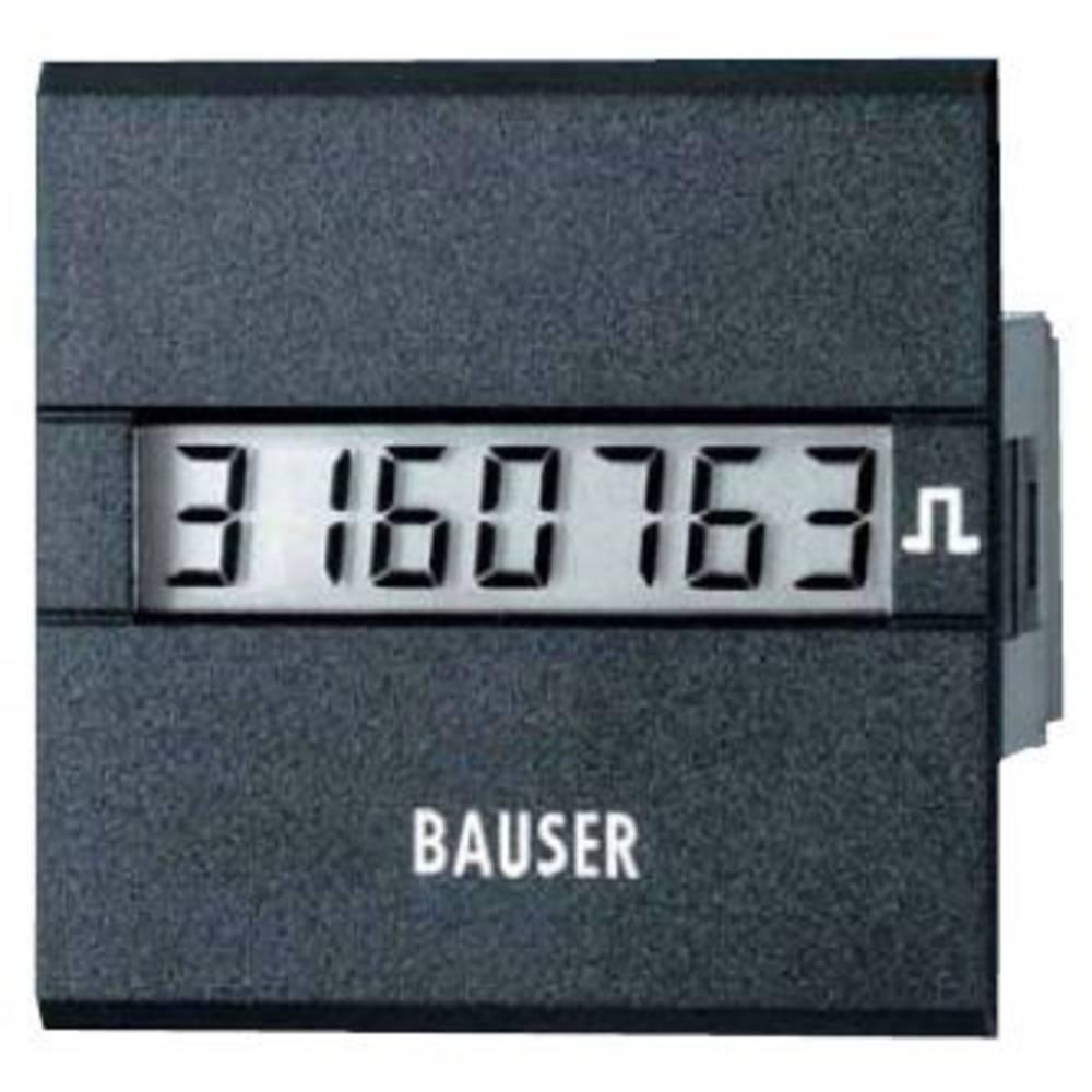 Bauser 3811.2.1.7.0.2 digitalni števec impulzov tip 3811, 115 - 240 V/AC vgradne mere 45 x 45 mm