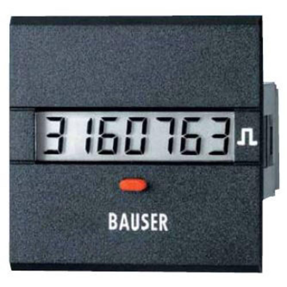 Bauser 3811.3.1.7.0.2 digitalni števec impulzov tip 3811, 115 - 240 V/AC vgradne mere 45 x 45 mm