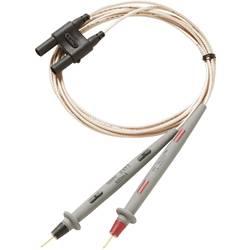 Merilni kabel [ lamelni vtič 4 mm - testna konica] 1 m črne barve, rdeče barve Fluke TL2X4W-PTII