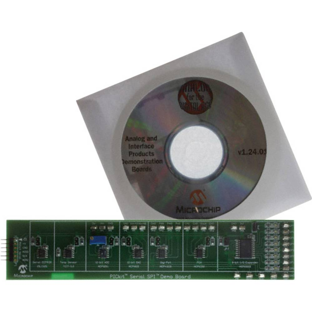 Razvojna plošča Microchip Technology PKSERIAL-SPI1