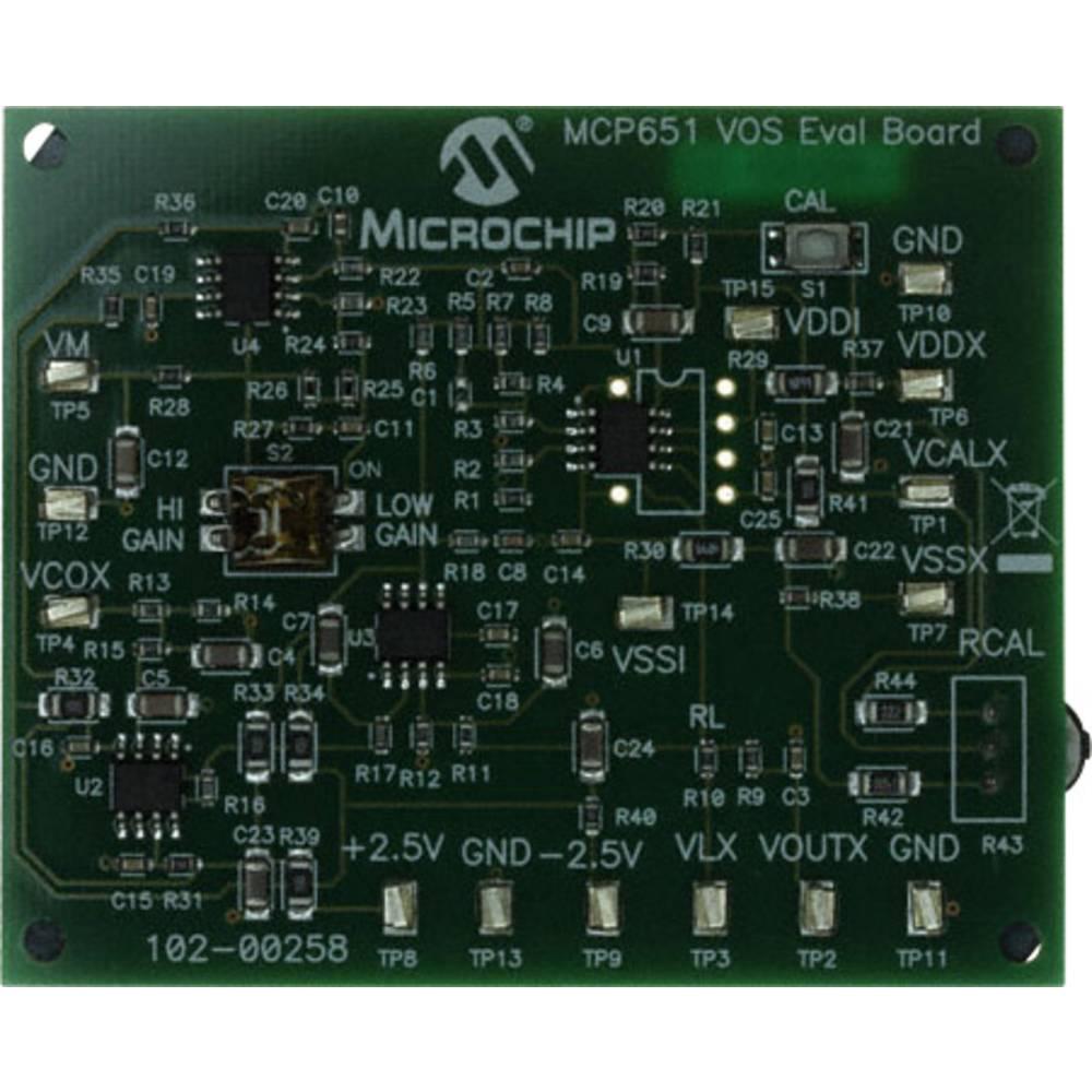 Razvojna plošča Microchip Technology MCP651EV-VOS