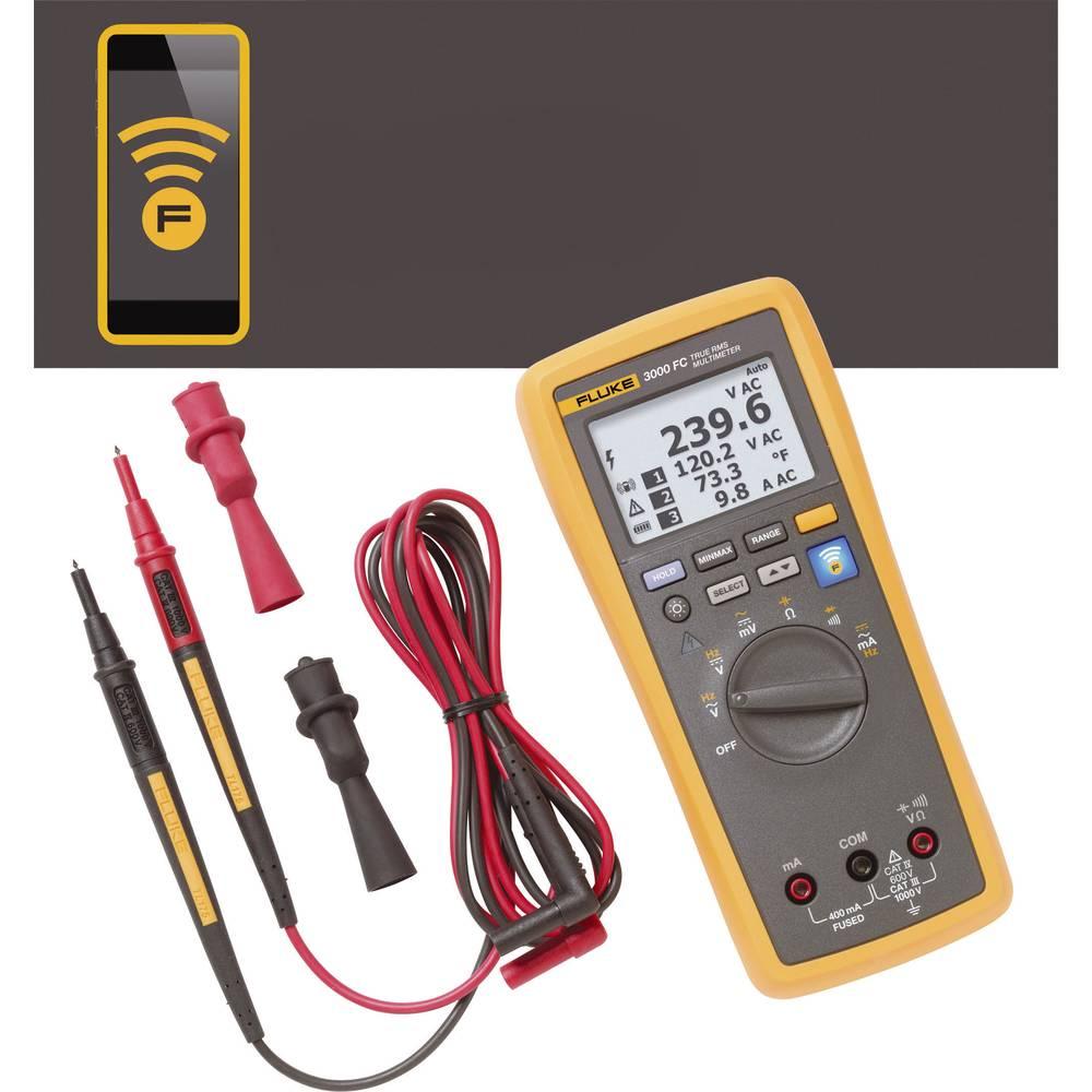 Ročni multimeter, digitalni Fluke FLK-3000 FC kalibracija narejena po: delovnih standardih, grafični prikaz, zapisovalnik podatk