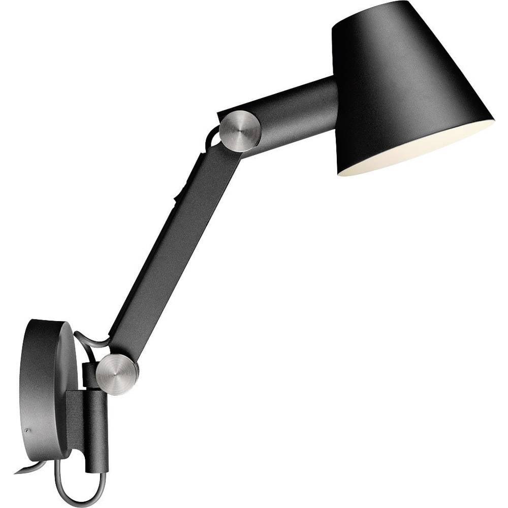 Stenska nočna svetilka, halogenska E27 60 W Nordlux, črna 78371003
